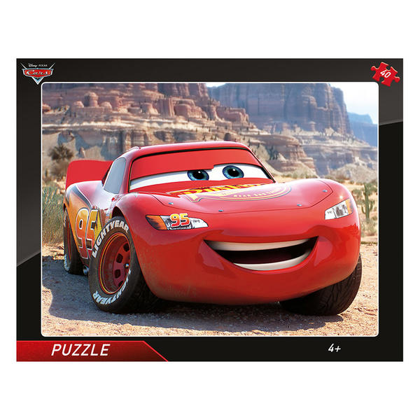 CARS  BLESK MCQUEEN - puzzle d7018b9f127